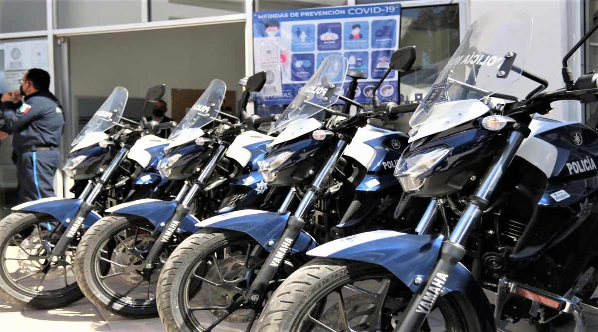 Entregaron unidades y equipo a la Policía de La Paz