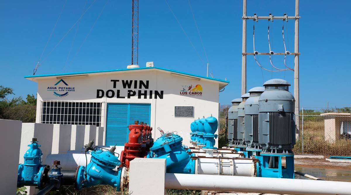 Equipan cárcamo de rebombeo de Twin Dolphin en Los Cabos