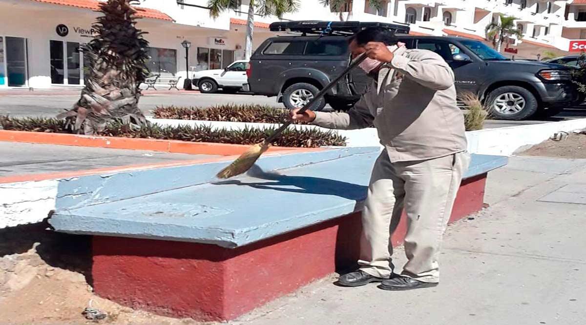 Rehabilitan paradas de autobuses en Los Cabos