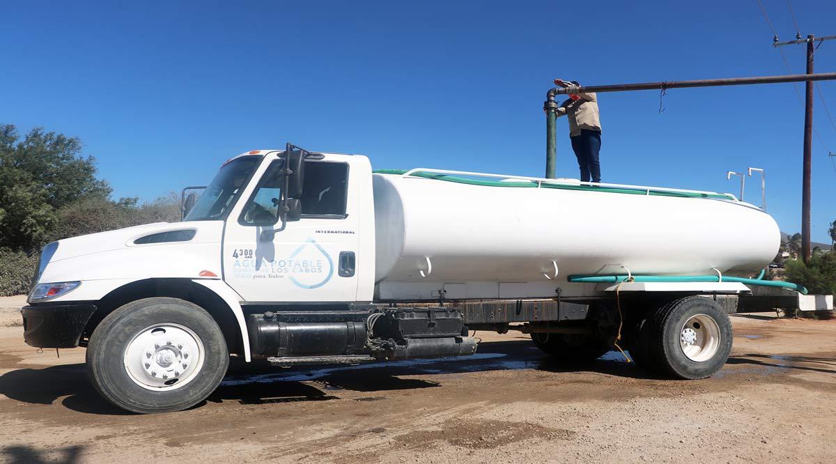 Supervisan distribución de agua en el pozo 4 de CSL