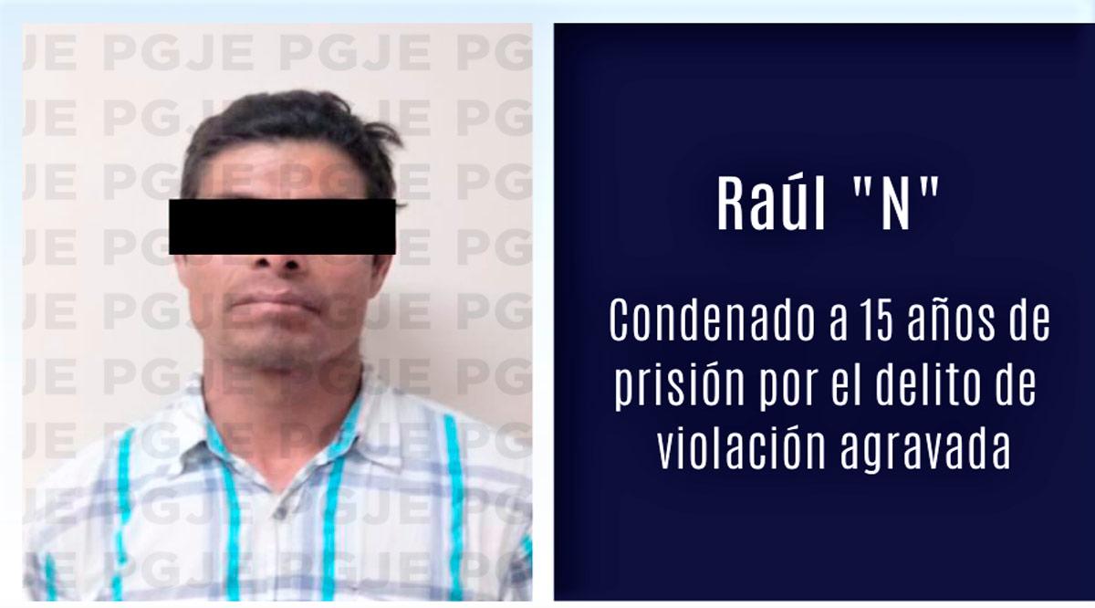 Sentencian a violador a 15 años de prisión en La Paz