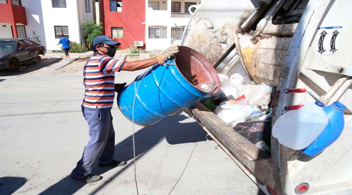 Han recolectado más de 204 mil toneladas de basura doméstica en Los Cabos durante 2 años