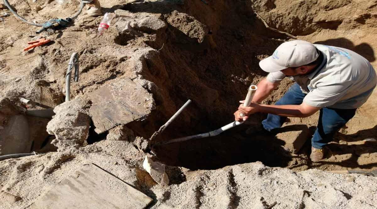 Detectan tomas clandestinas de agua potable en la colonia Lagunitas