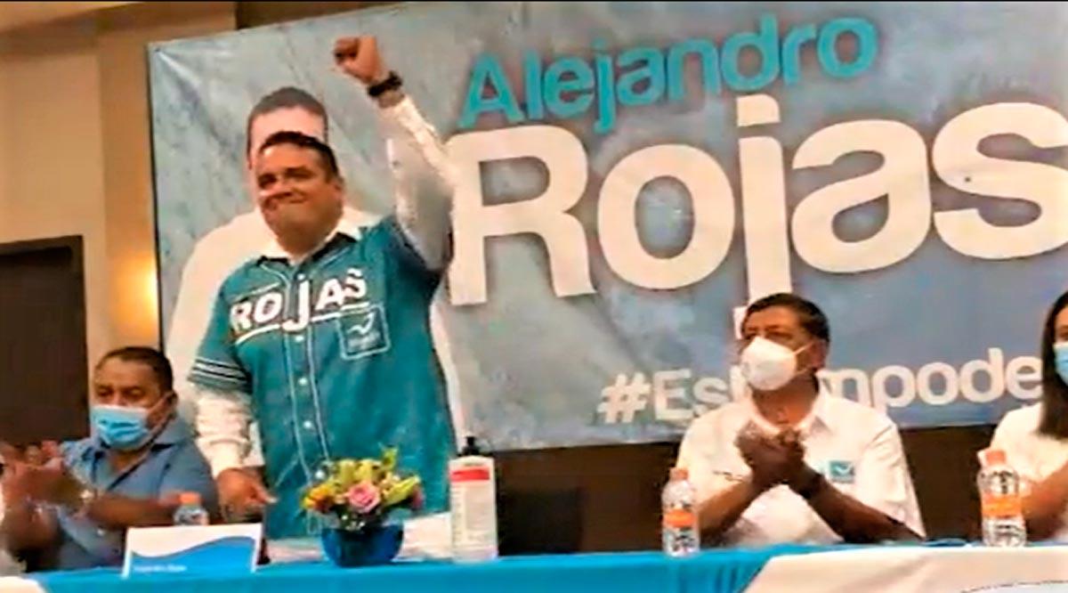 Alejandro Rojas liga partido y candidatura con el PANAL; va por Los Cabos