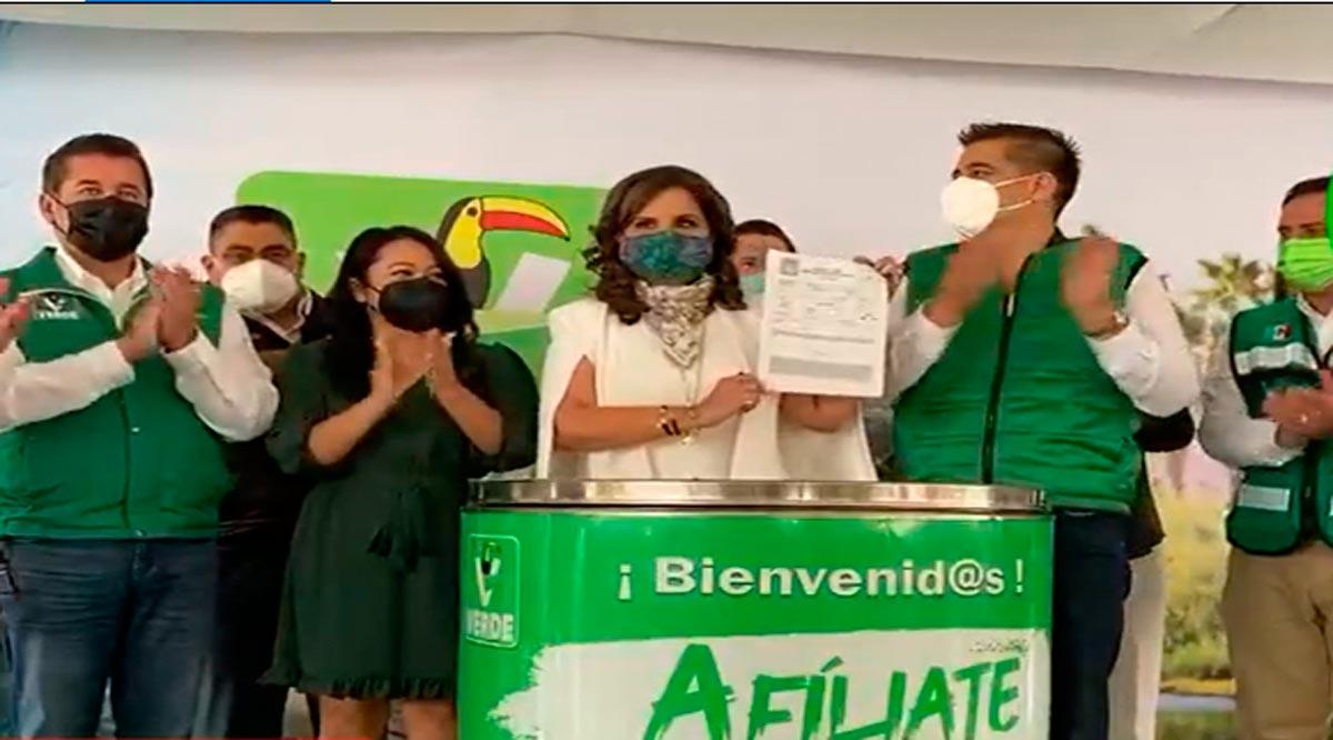 Armida Castro ya es Verde y va por la Gubernatura de BCS