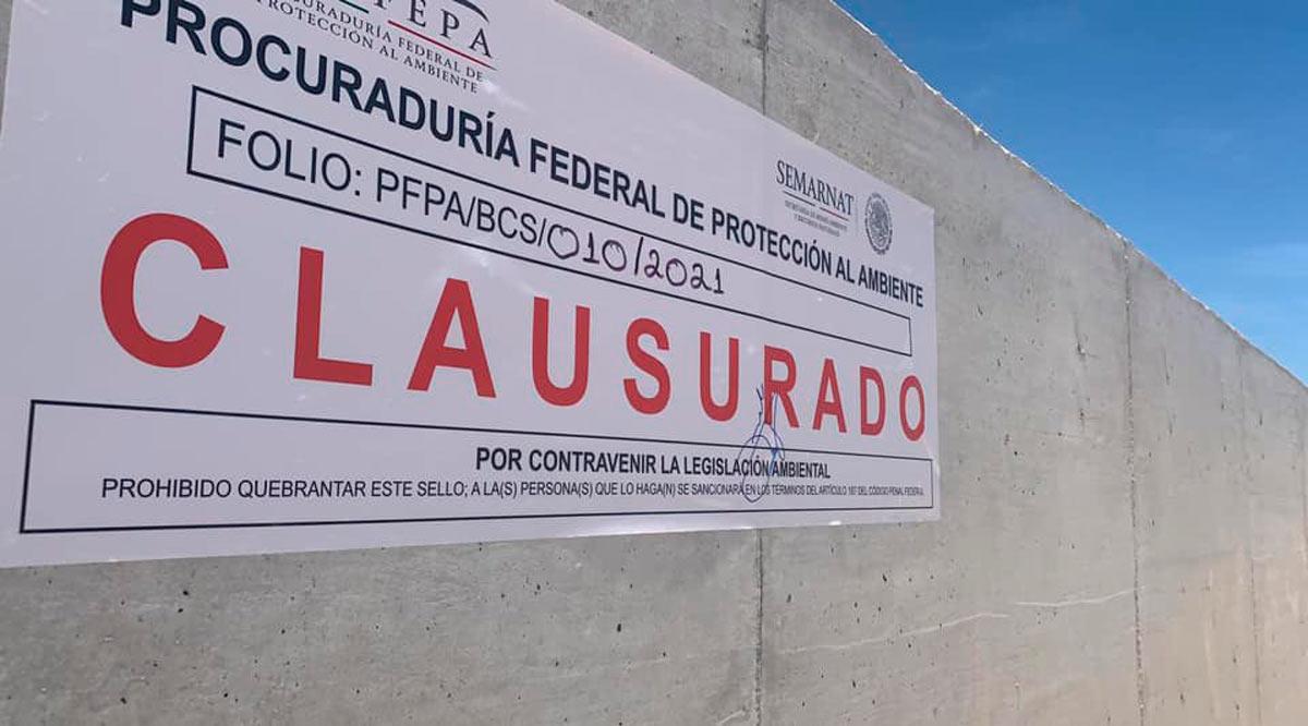 Avanza lucha contra muro de Costa Azul; Profepa lo clausura