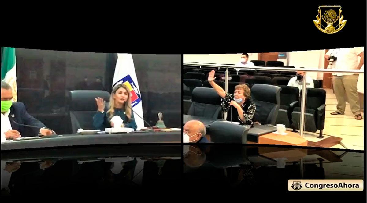 Sigue show legislativo en el Congreso de BCS; otra vez hay dos Mesas Directivas