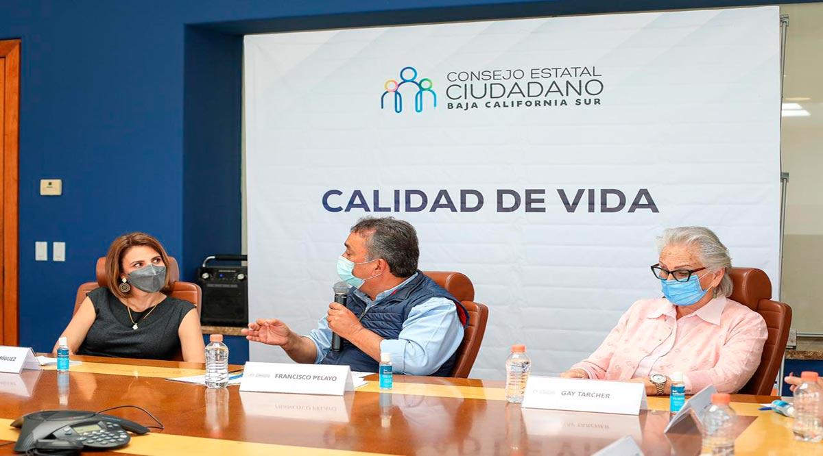 """""""Trabajamos por una mejor calidad de vida para todos en BCS"""": Consejo Estatal Ciudadano"""