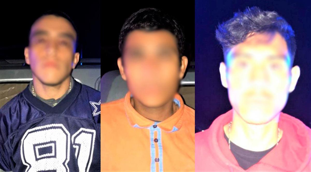 Detienen a 3 sujetos en posesión de un arma de fuego en La Paz