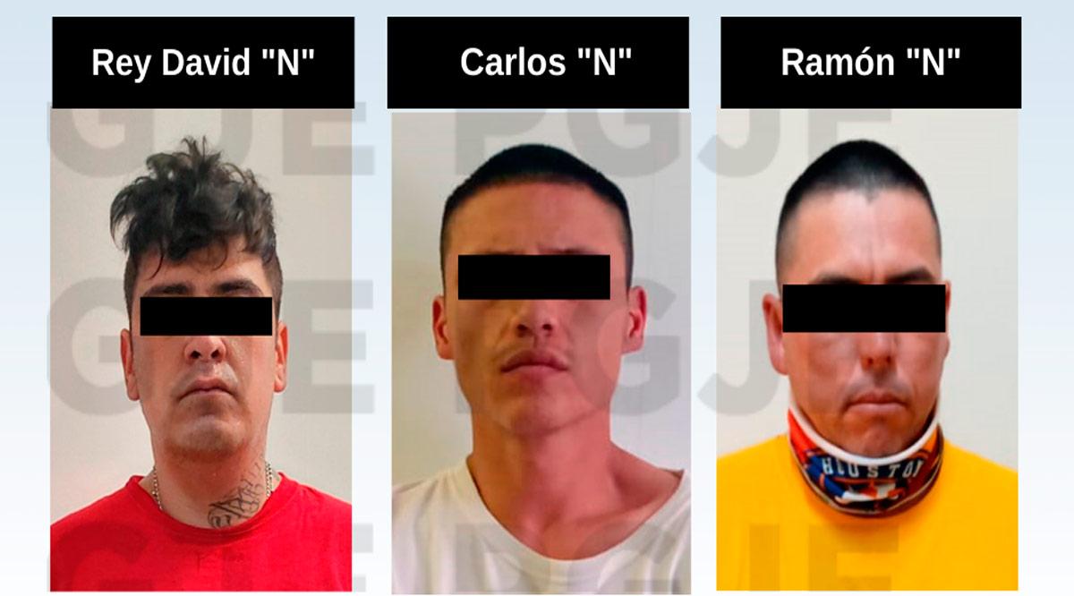 Aseguran a 3 sujetos y más de 2,500 dosis de droga en La Paz