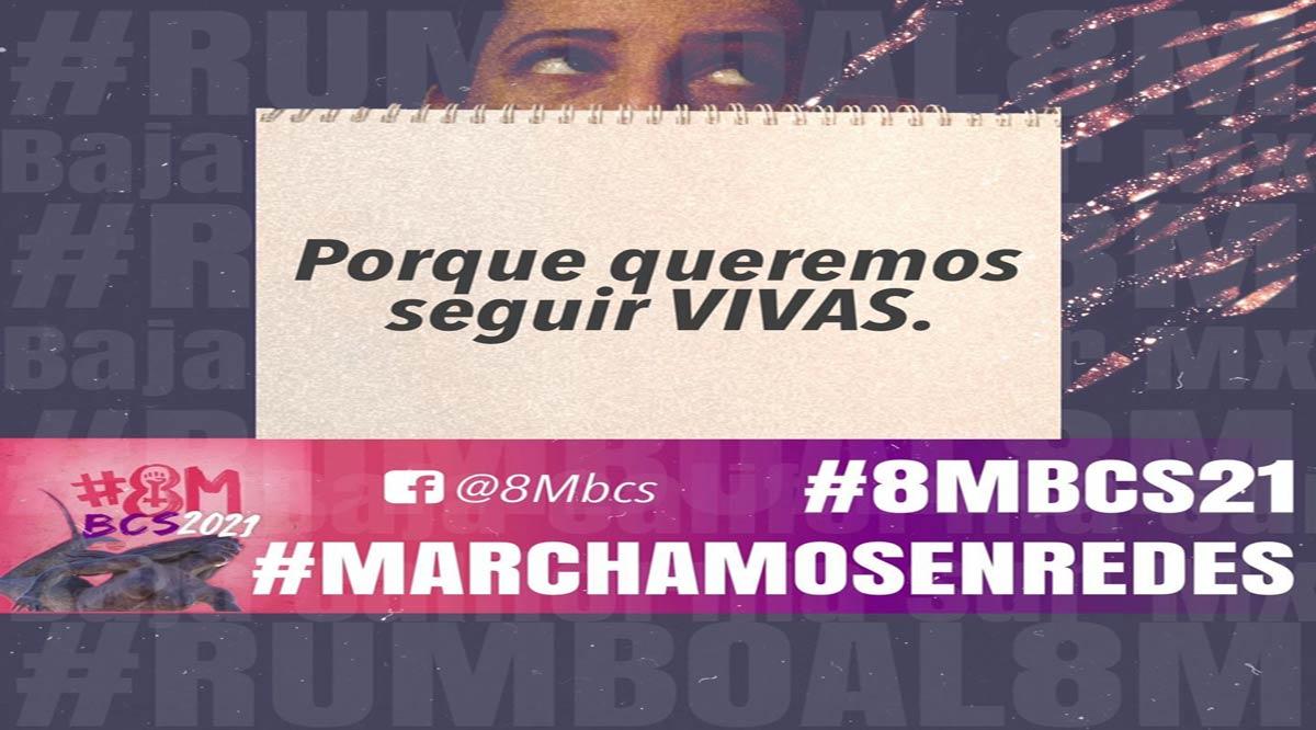 Habrá protestas de mujeres de BCS en 4 municipios