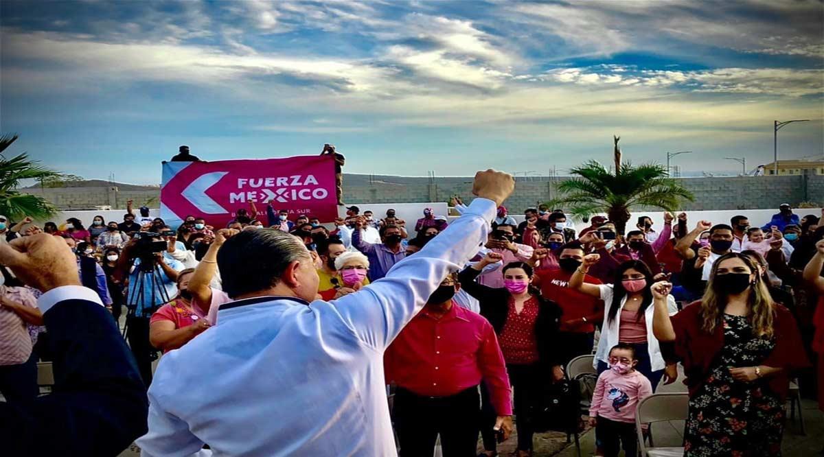 Ernesto Ibarra se decide por Fuerza por México por la Alcaldía de Los Cabos