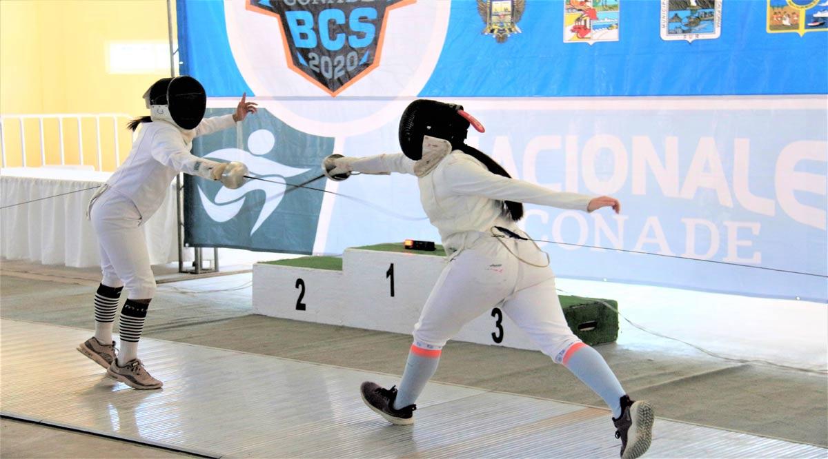Participarán esgrimistas de BCS en el Primer Clasificatorio Nacional 2021