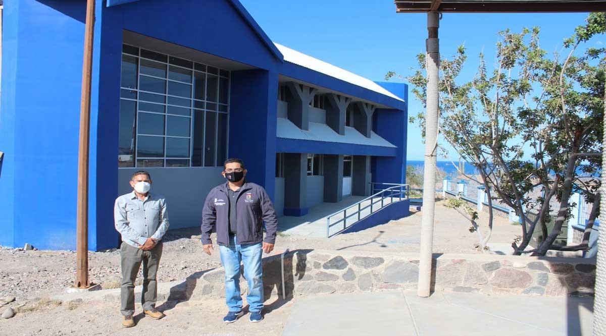 Entregan espacios educativos en Mulegé y Comondú
