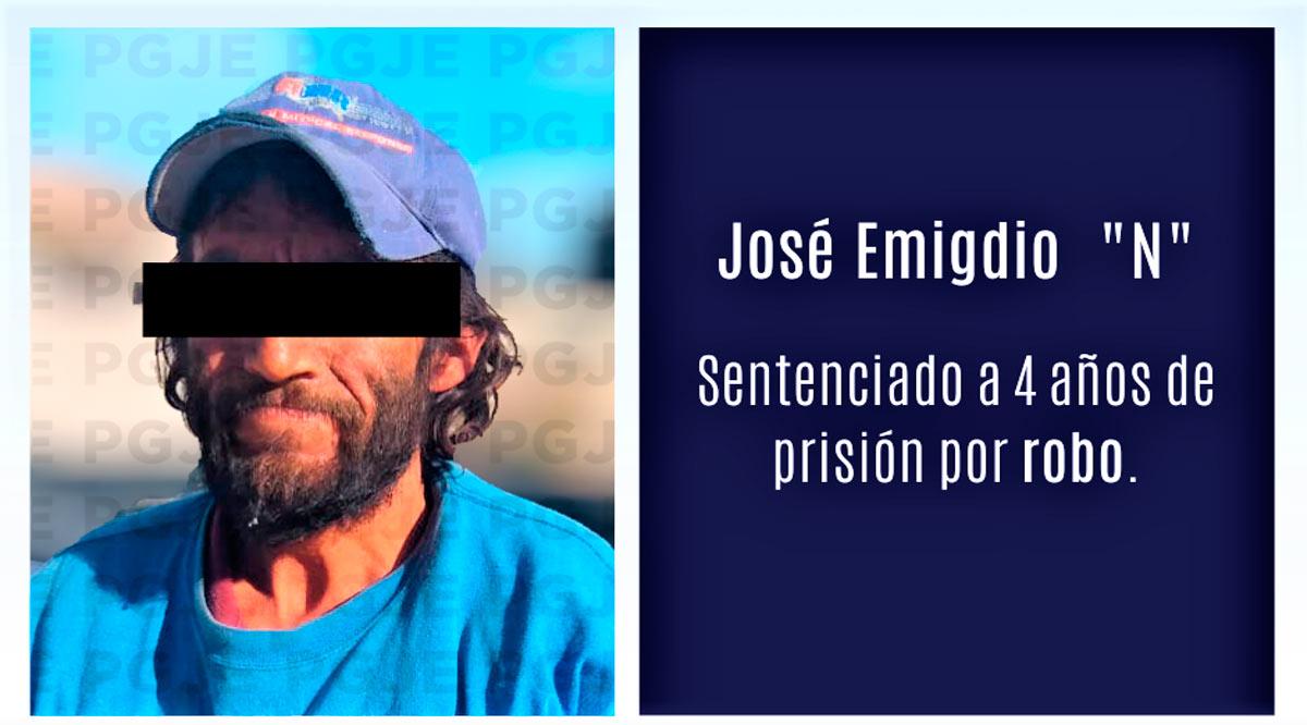 Sentenciado 4 años de prisión un sujeto responsable de robo en Mulegé