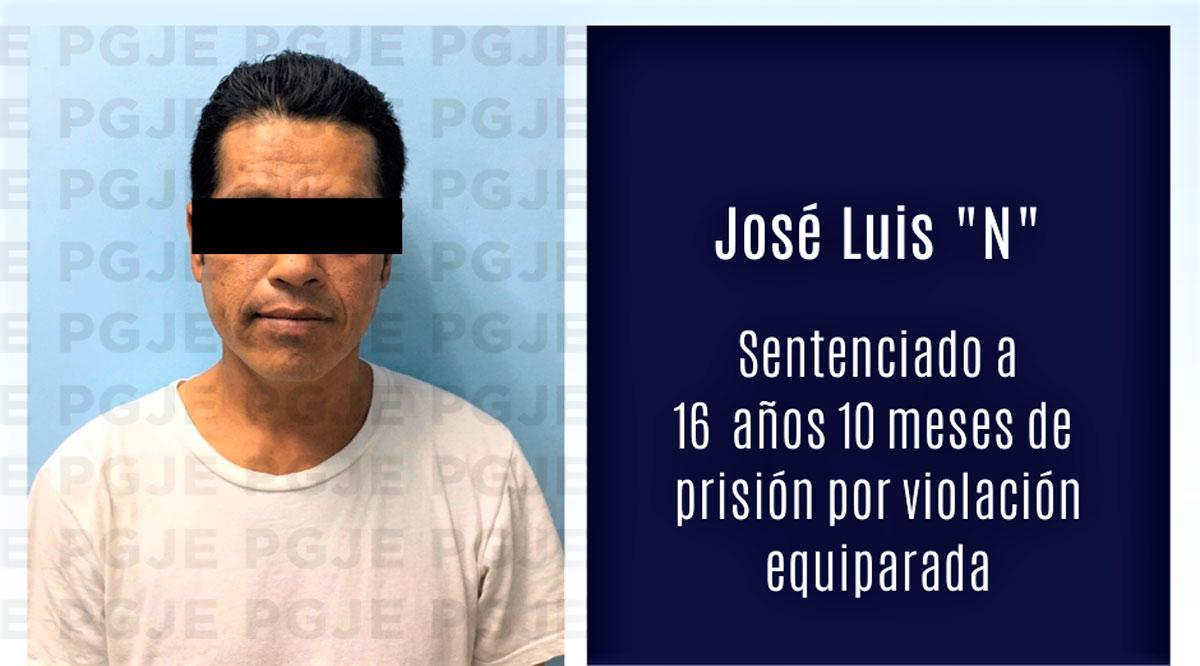Sentencian a 16 años 10 meses de prisión a sujeto que violó a una menor en Los Cabos