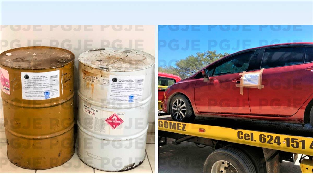 Aseguran un vehículo y artículos con reporte de robo en Los Cabos y Loreto