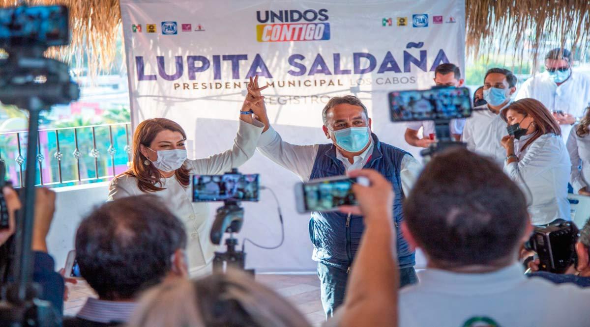 """""""Se debe dejar atrás el oportunismo de los políticos de siempre; tienen que irse"""": Lupita Saldaña"""