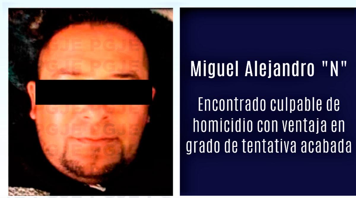 """Condenan a """"El Mike"""" por homicidio con ventaja en grado de tentativa en Comondú"""