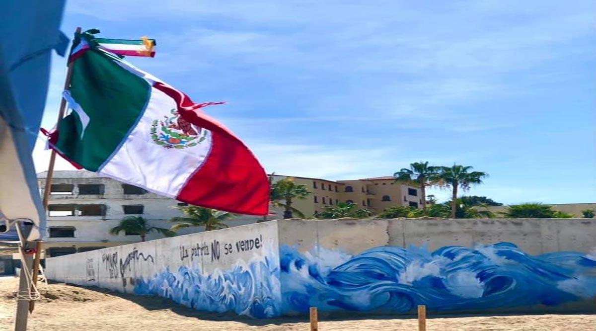El muro de Costa Azul en Los Cabos empieza a arrojar abusos y negligencias