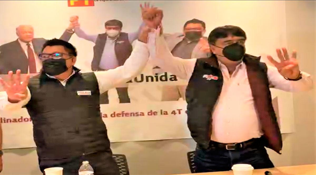 Ratifican a Oscar Leggs como abanderado de la coalición Morena-PT en Los Cabos