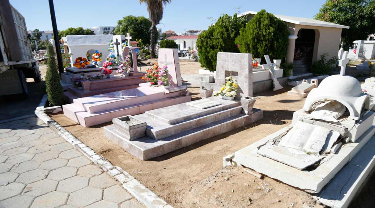 Reabren panteones de Los Cabos con estrictos protocolos
