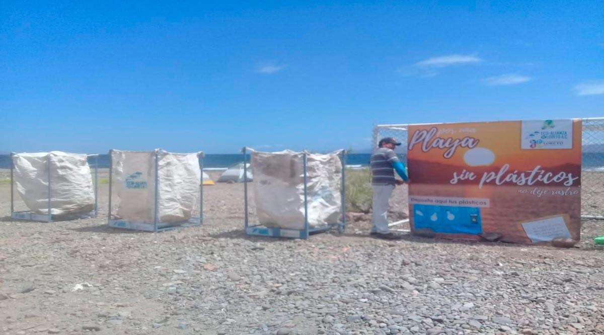 Llaman a mantener las playas limpias durante Semana Santa en Loreto