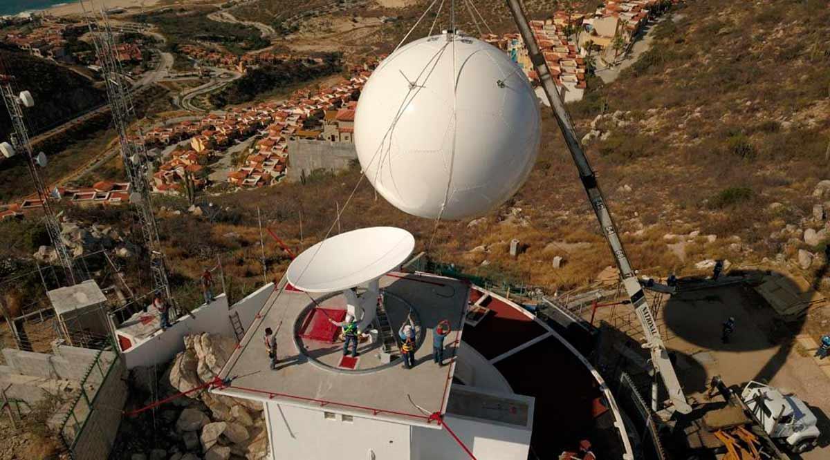 Inauguran nuevo Radar Meteorológico en Los Cabos