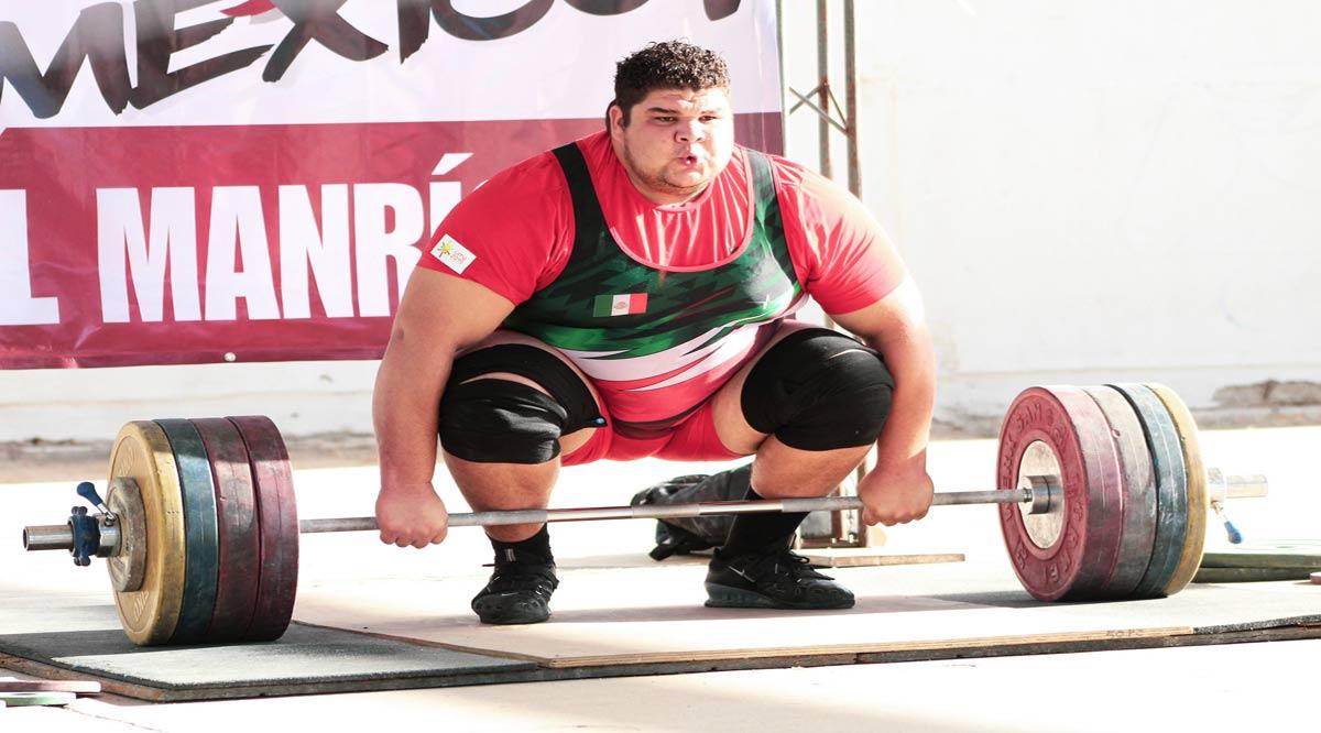 Se suma Raúl Manríquez a la concentración de la selección nacional de pesas en Nuevo León