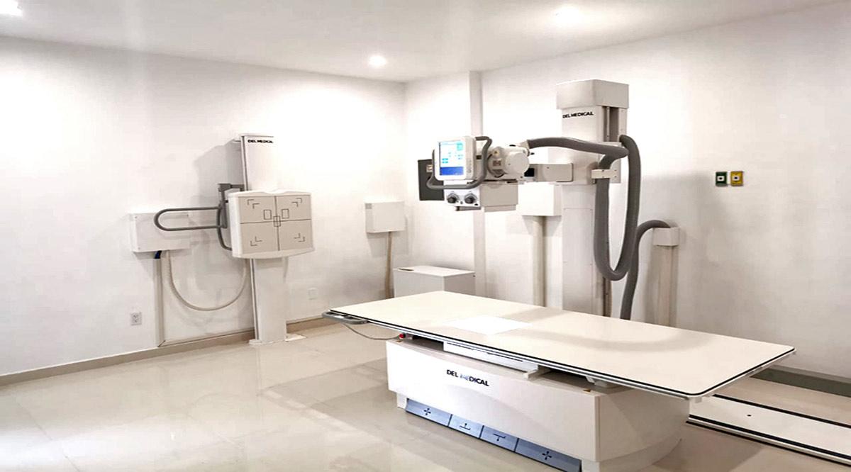 Instalan en el Hospital General de SJC equipo de rayos X digital