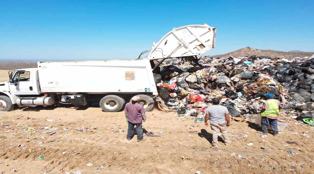 Se compactan 11 mil toneladas de residuos semanales en el relleno sanitario de La Candelaria