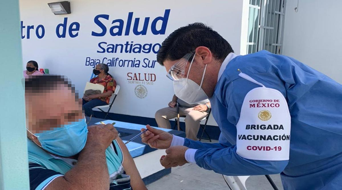 Se suman Centros de Salud de zona rural de Los Cabos a la vacunación contra el Covid-19