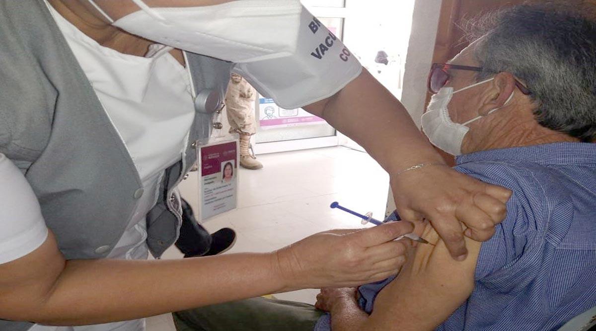 Continúa la aplicación de vacunas contra el Covid-19 en Mulegé