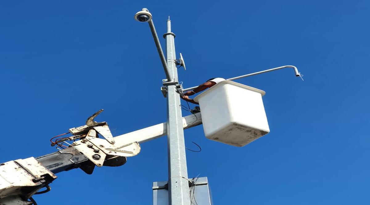 Existen 198 cámaras de videovigilancia en BCS por parte de Seguridad Pública