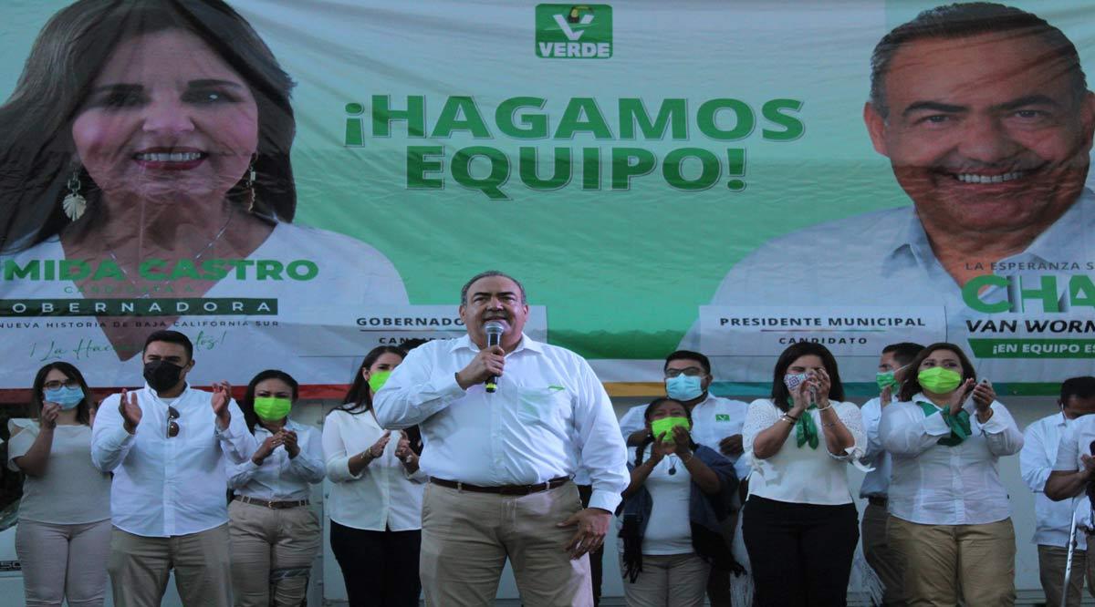 """""""No queremos más de lo mismo en Los Cabos"""": Carlos Van Wormer"""
