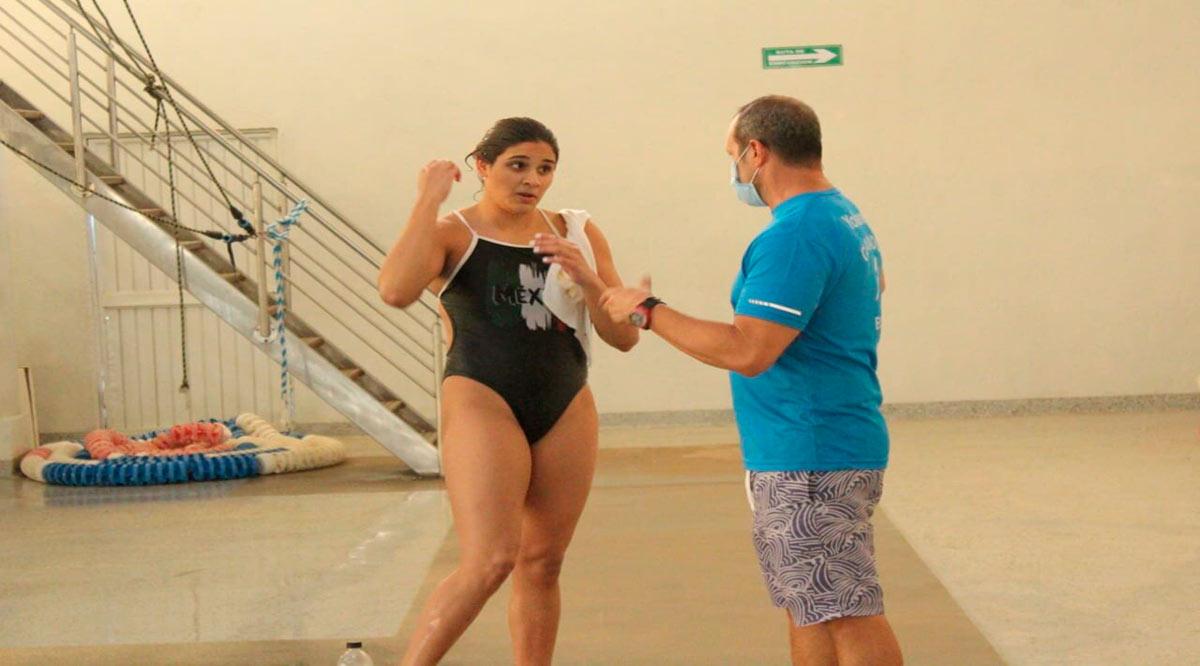 Viajan clavadistas de BCS en busca del pase a Juegos Olímpicos