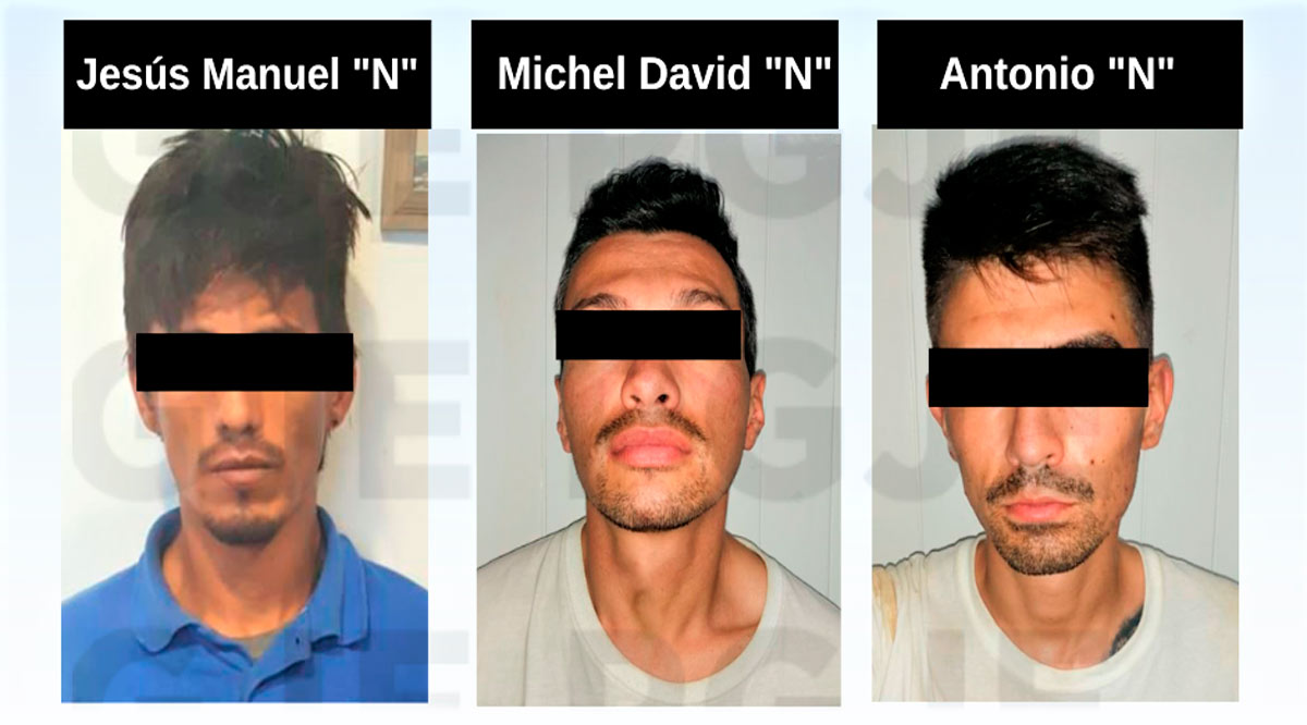 Detienen a 3 presuntos narcomenudistas en BCS