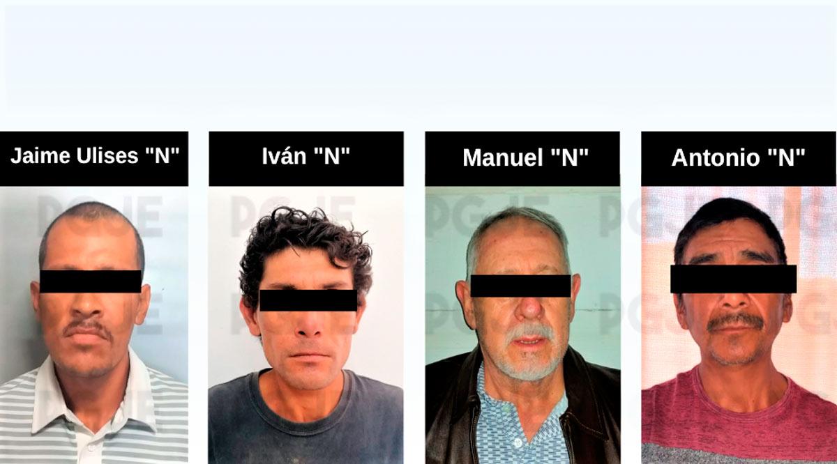 Aprehenden a 4 personas por diversos hechos delictivos en BCS