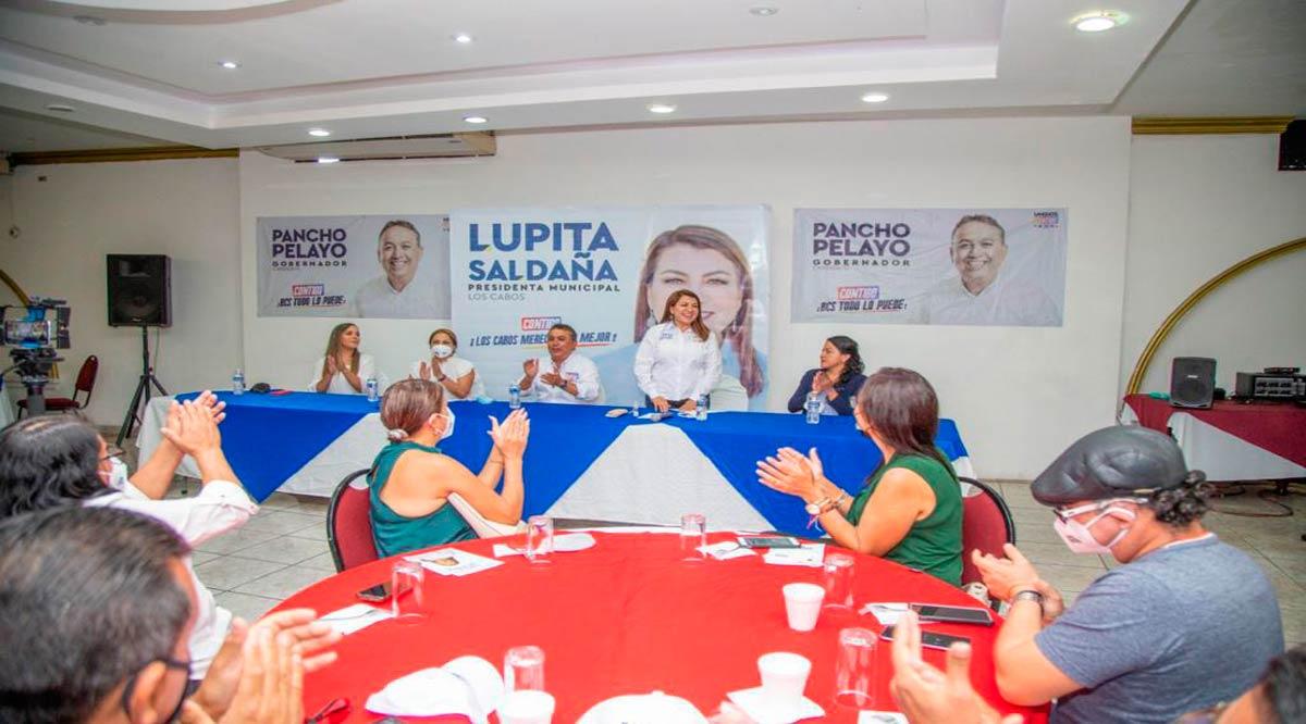 """""""Es tiempo de hacer justicia al magisterio cabeño"""": Lupita Saldaña"""