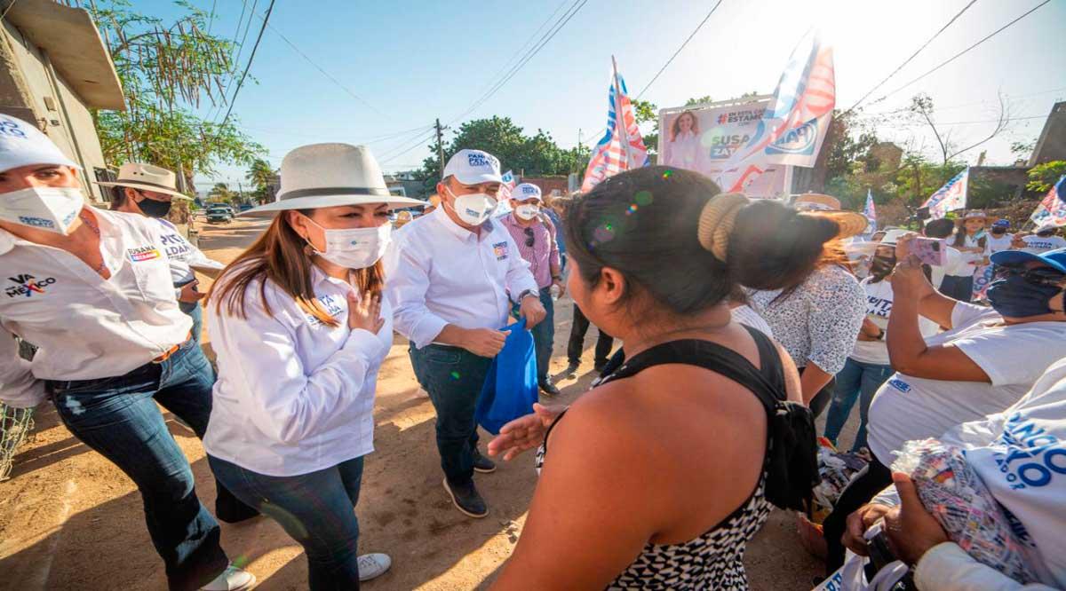 Promete Lupita Saldaña mejorar la red de drenaje de Los Cabos