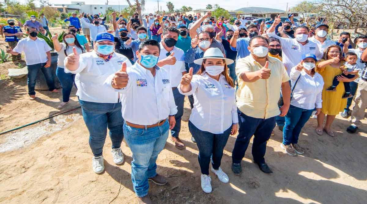 Se suma Delegado de La Ribera a Lupita Saldaña