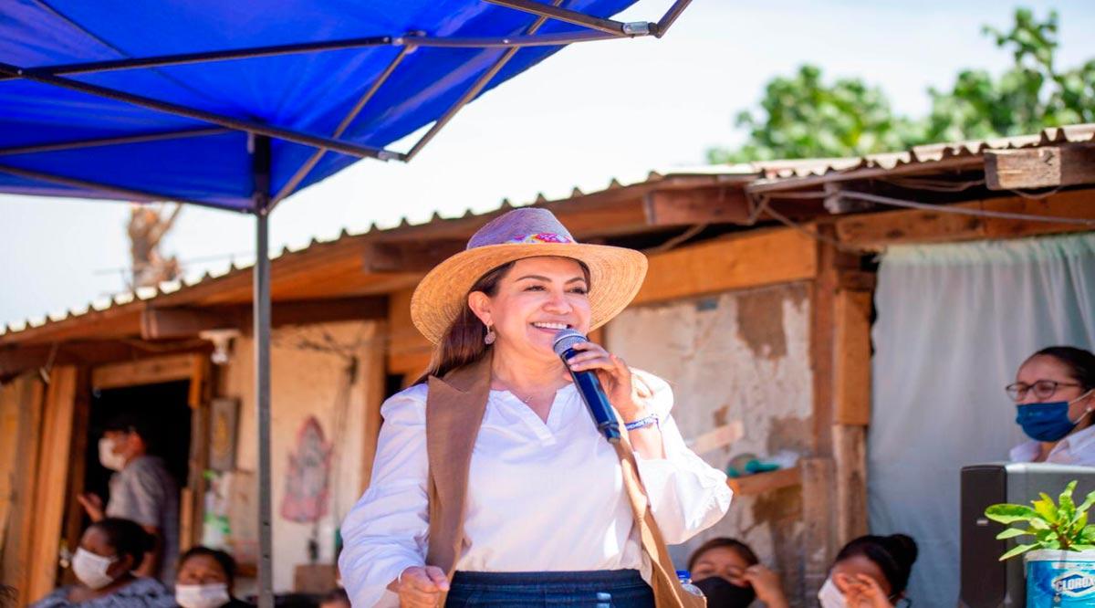 """""""Llegó la hora del verdadero cambio en Los Cabos"""": Lupita Saldaña"""