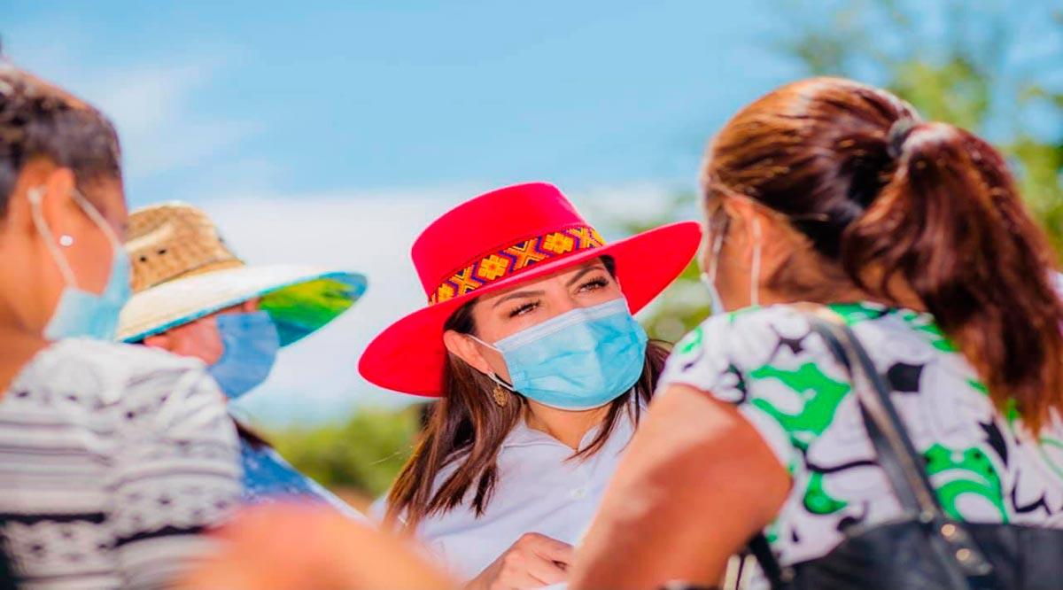 """""""Acabaremos con la corrupción y negocio del agua en Los Cabos"""": Lupita Saldaña"""