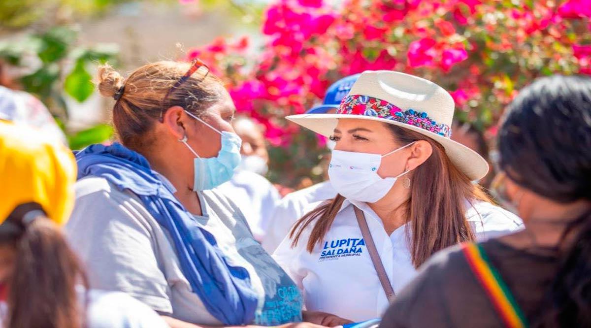 """""""Realizaré el programa de pavimentación más grande en la historia de Los Cabos"""": Lupita Saldaña"""