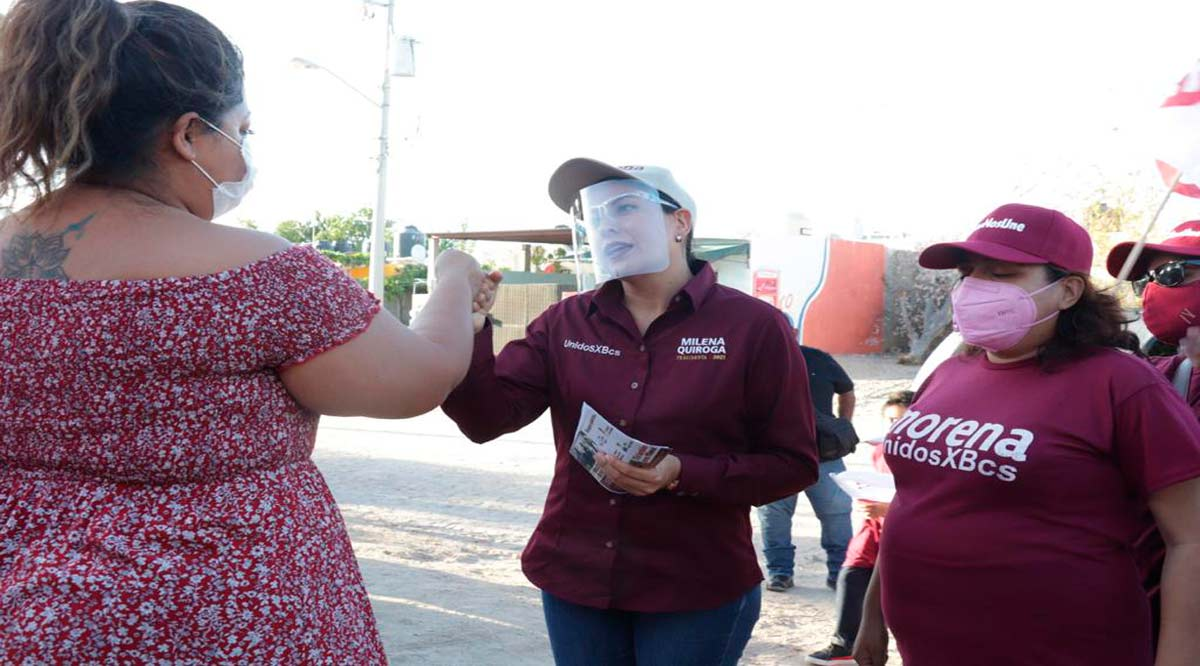 Compromete Milena Quiroga mejor movilidad para las personas con discapacidad en La Paz