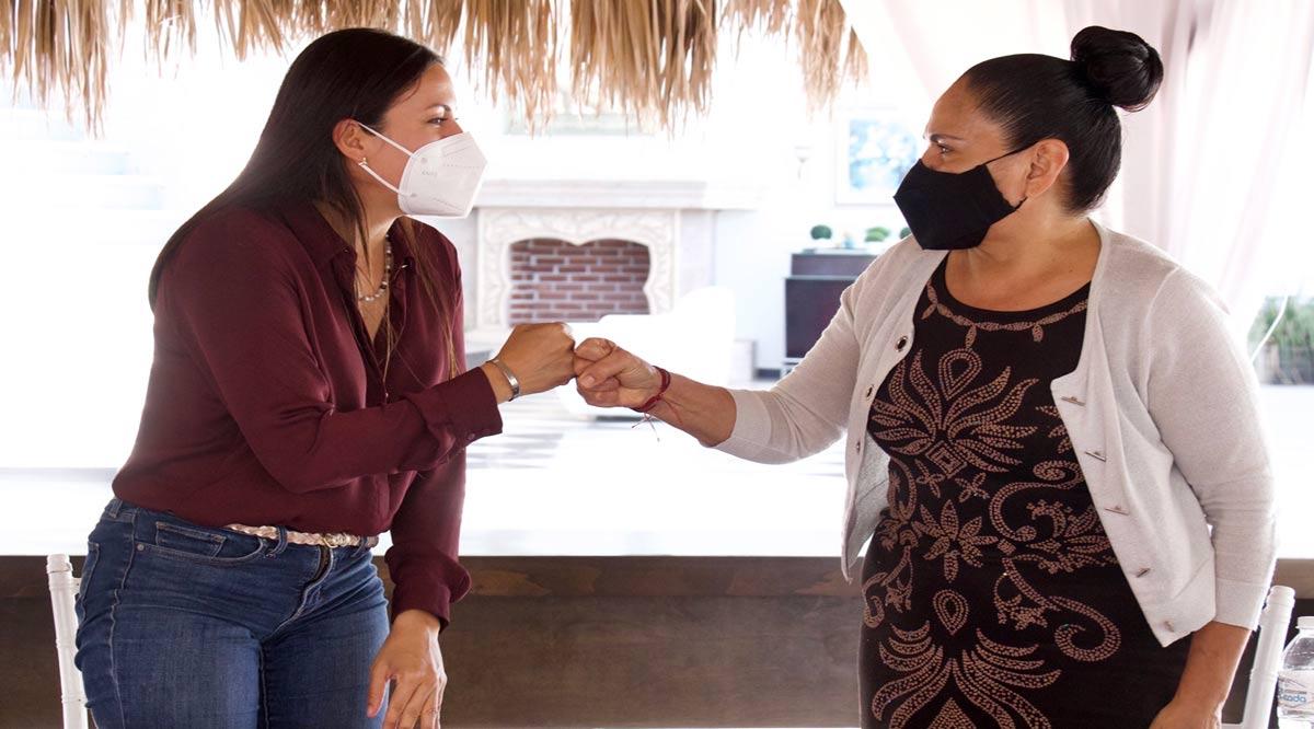 Respalda Milena Quiroga planteamientos de restauranteros de La Paz