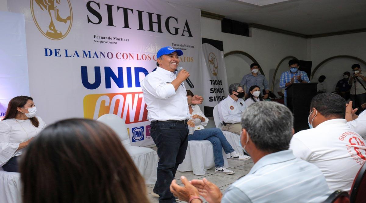 Compromete Pancho Pelayo promoción e inversión turística con visión de desarrollo social