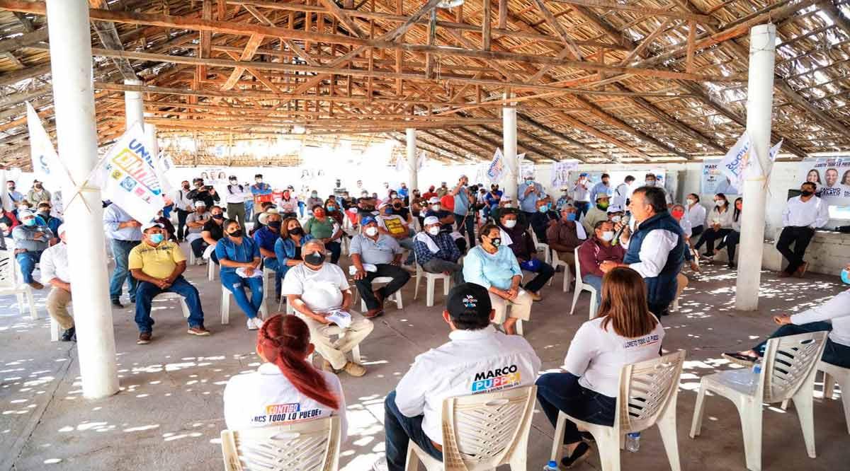 Apoyos a familias, internet y telemedicina, estarán presentes en las comunidades rurales: Pancho Pelayo