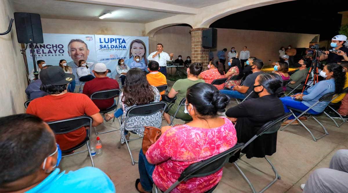 Anuncia Pancho Pelayo el Programa Alimentario Integral y atención a familias en comunidades