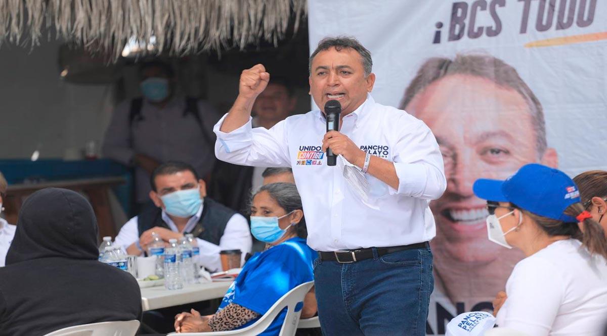 Anuncia Pancho Pelayo el fondo de reconversión y estímulos a pescadores de BCS